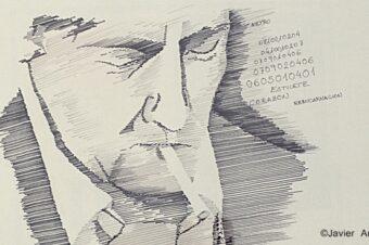 Roberto H.C. protagonista de 15 novelas de intriga policíaca.