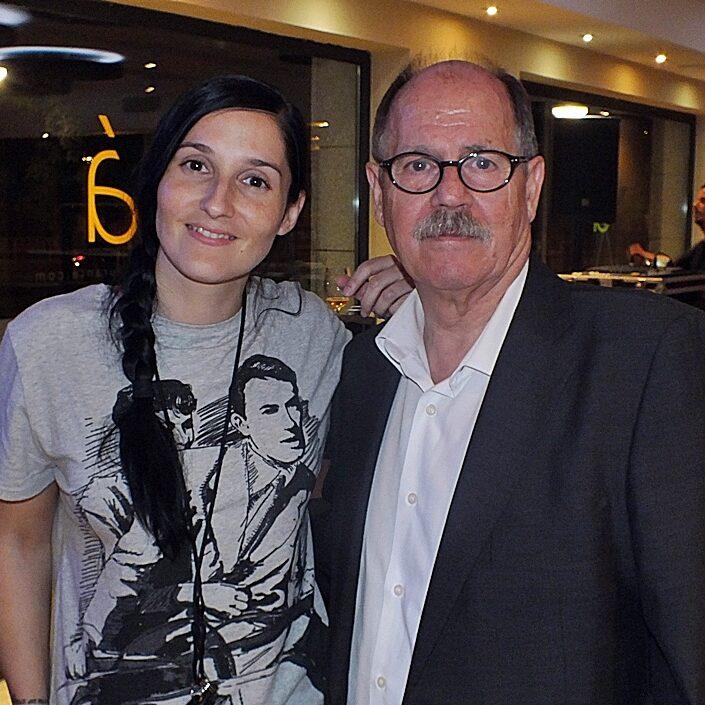 Con Clara Peñalver en Granada