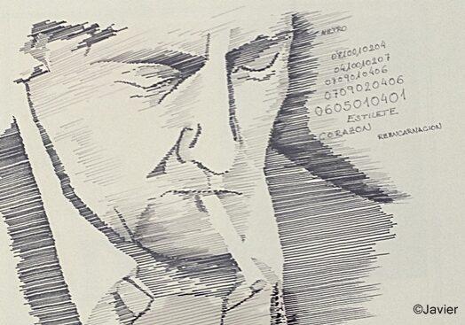 Roberto HC. Protagonista de 15 novelas de intriga policíaca.